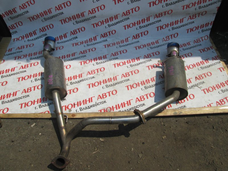 Глушитель Nissan Tiida JC11 MR18DE 2008 1186