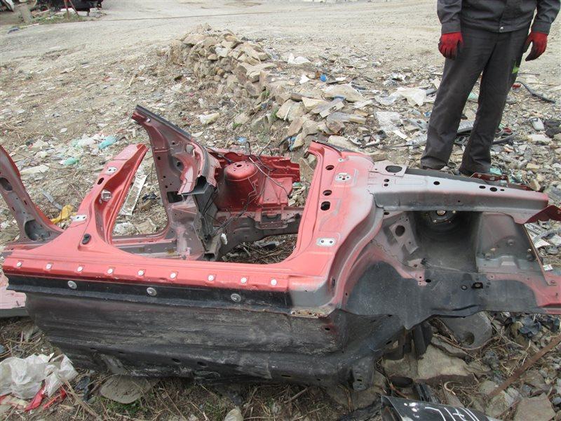 Порог кузова Mazda Verisa DC5W ZY-VE 2007 правый оранжевый 27y 1185