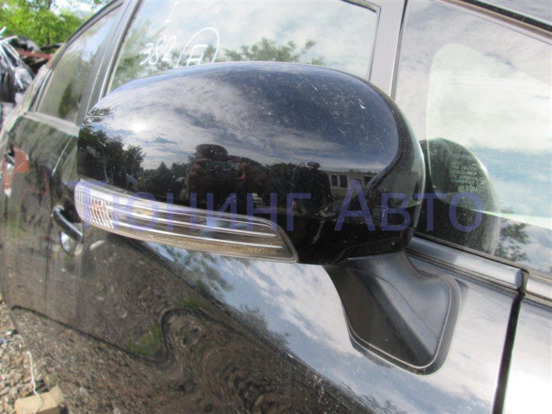 Зеркало Toyota Prius ZVW30 2ZR-FXE 2012 правое черный 202 1205