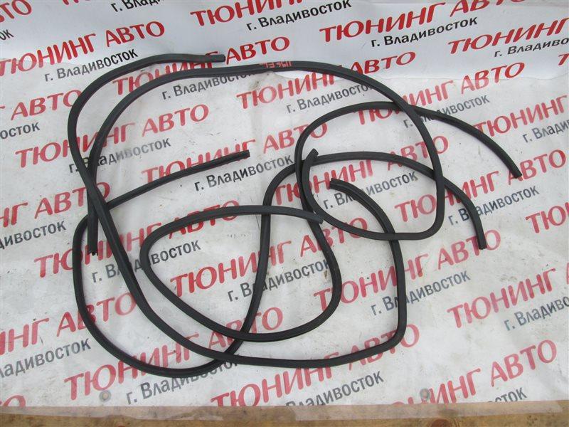Уплотнительная резинка дверей Toyota Sprinter Carib AE111 4A-GE 2000 белый 040 1196