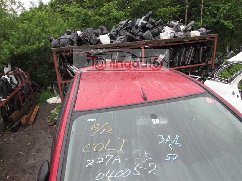 Крыша Mitsubishi Colt Z27A 4G15T 2006 красный p26 1211
