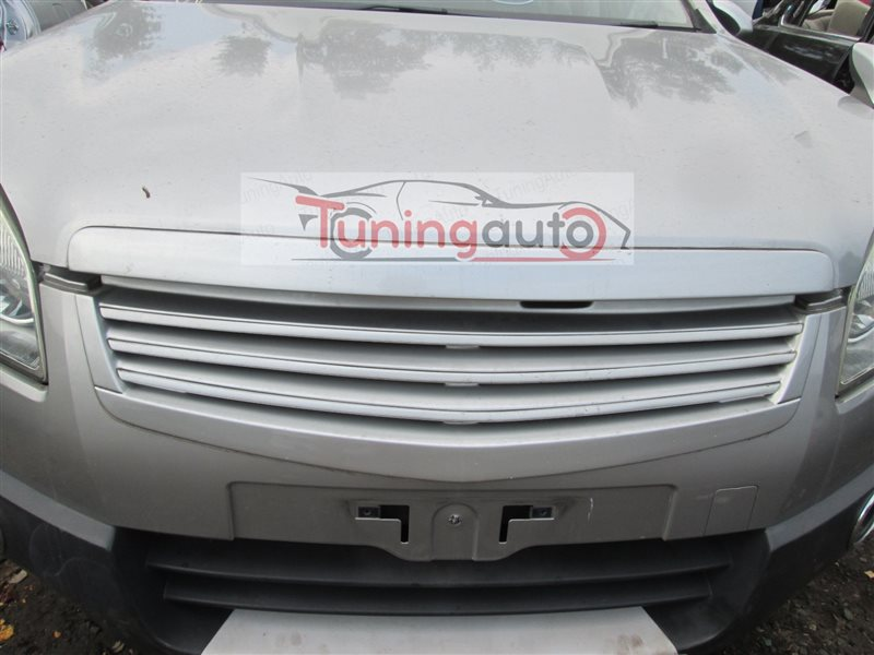 Решетка радиатора Nissan Dualis NJ10 MR20DE 2007 серебро ky0 1216