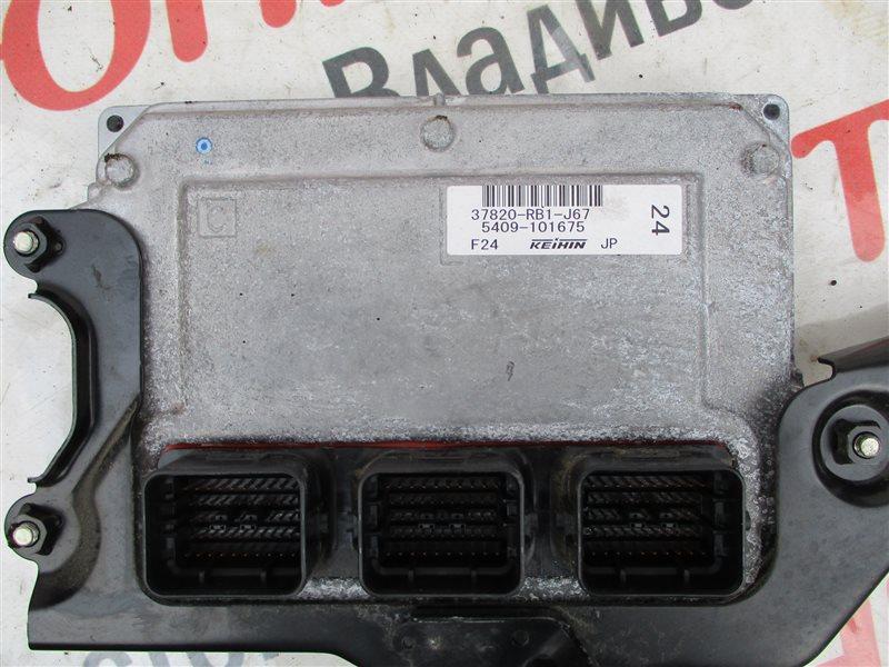 Блок управления efi Honda Fit GE8 L15A 2010 1219 37820-rb1-j67
