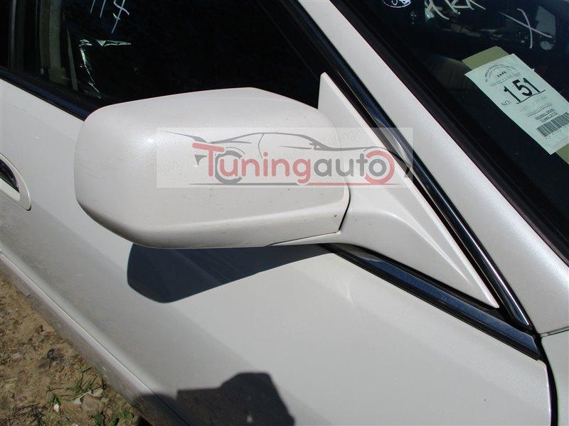 Зеркало Honda Inspire UA5 J32A 2001 правое белый nh603p 1221
