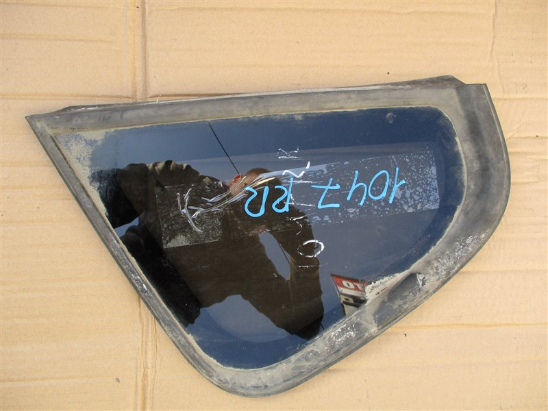 Стекло собачника Mitsubishi Colt Z27A 4G15T 2008 правое перл 1047