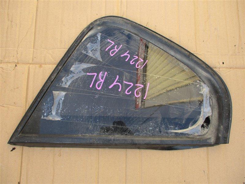 Стекло собачника Mitsubishi Colt Z27A 4G15T 2007 заднее левое 1224