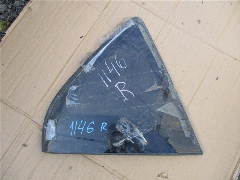 Стекло собачника Toyota Rav4 ACA31 2AZ-FE 2006 правое белый 070 1146