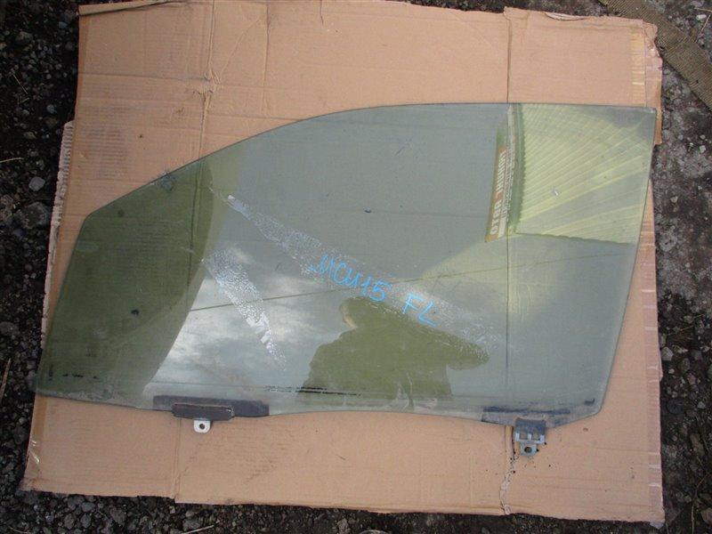 Стекло двери Toyota Harrier MCU15 1MZ-FE 2002 переднее левое