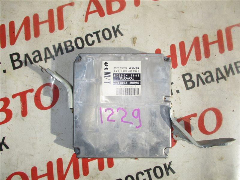 Блок управления efi Toyota Carina AT210 4A-GE BLACK TOP 1999 1229 89661-2g220