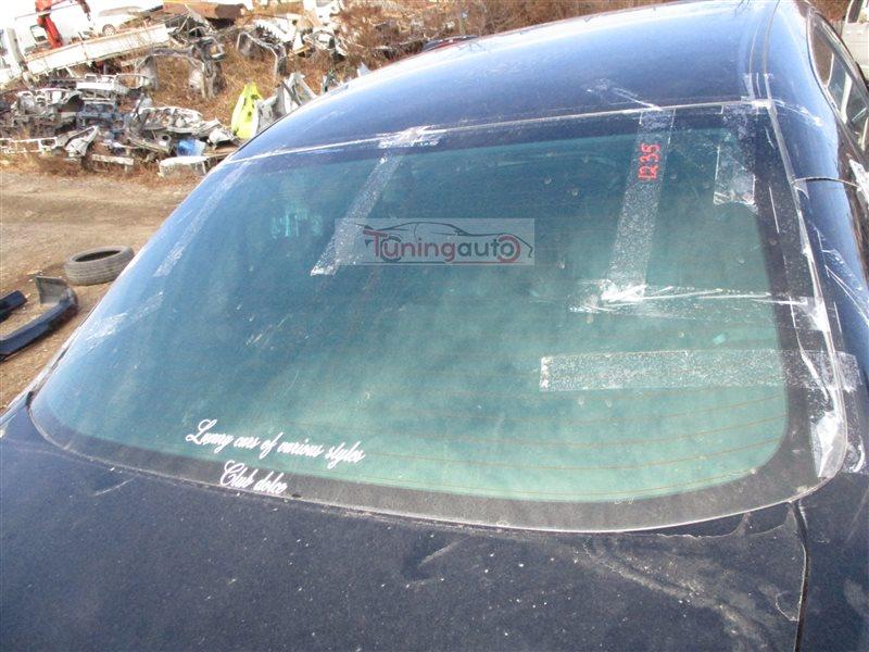 Стекло заднее Honda Inspire UC1 J30A 2003 черный (b92p) 1235