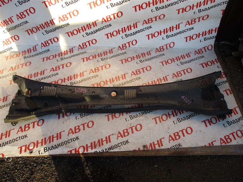 Жабо Toyota Carina AT210 4A-GE BLACK TOP 1999 серебро 1c0 1229