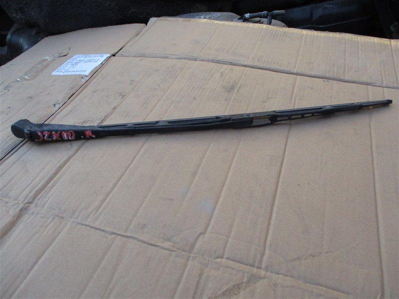 Держатель дворника Toyota Markii JZX110 1JZ-FSE 2003 задний серебро 1c0