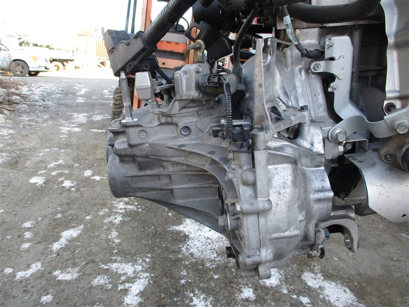Мкпп Honda Fit GE8 L15A 2011 sf8m 1234