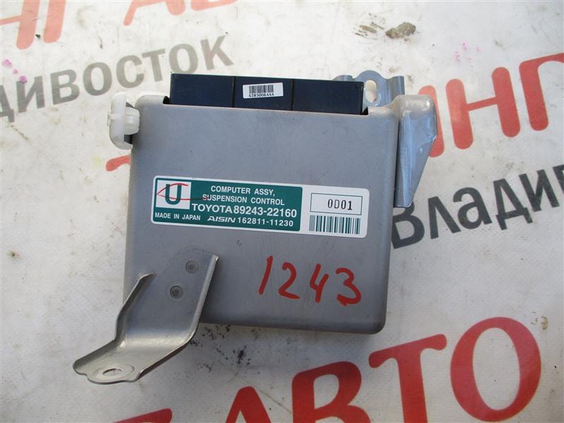 Электронный блок Toyota Mark X GRX130 4GR-FSE 2010 1243 89243-22160