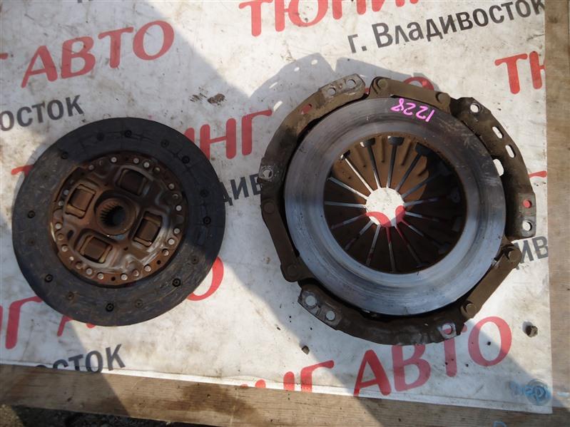 Корзина сц.+диск Toyota Corolla Fielder ZZE123 2ZZ-GE 2006 1228