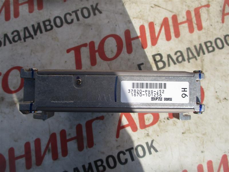 Блок управления efi Honda Inspire UA5 J32A 2002 1260 37820-pxg-j52