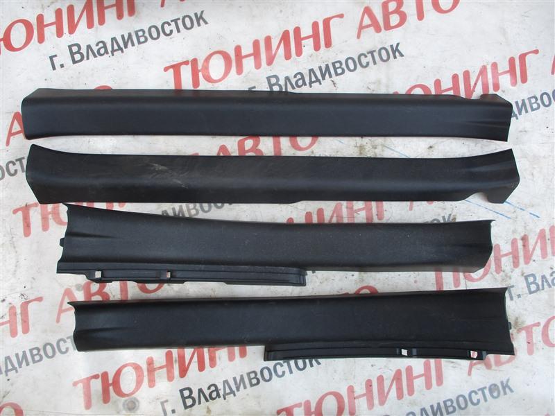 Накладка на порог Toyota Aqua NHP10 1NZ-FXE 2012 1264
