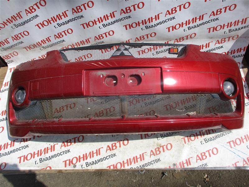 Бампер Mitsubishi Colt Plus Z27W 4G15T 2008 передний красный p26 1271