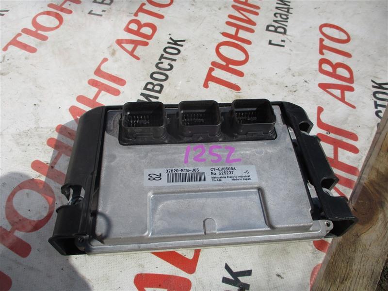Блок управления efi Honda Stepwgn RG4 K24A 2006 1252 37820-rtb-j65