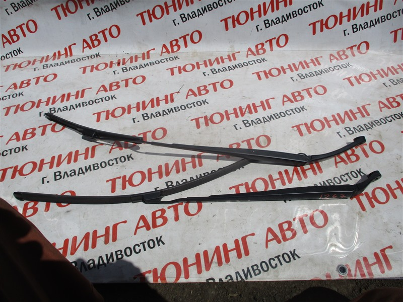 Держатель дворника Honda Fit GK3 L15B 2013 белый nh624p 1267
