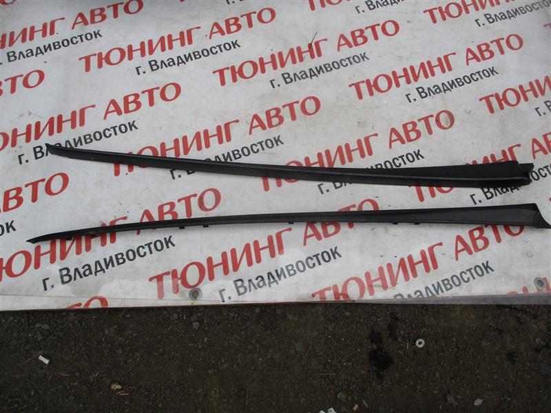 Молдинг лобового стекла Honda Fit GK3 L15B 2013 белый nh624p 1267