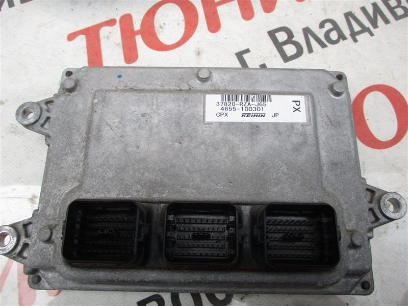 Блок управления efi Honda Crv RE4 K24A 2008 1272 37820-rza-j65