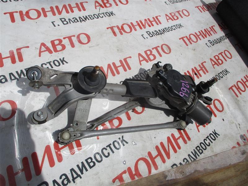 Мотор дворников Honda Stepwgn RK1 R20A 2010 черный pb81p 1266