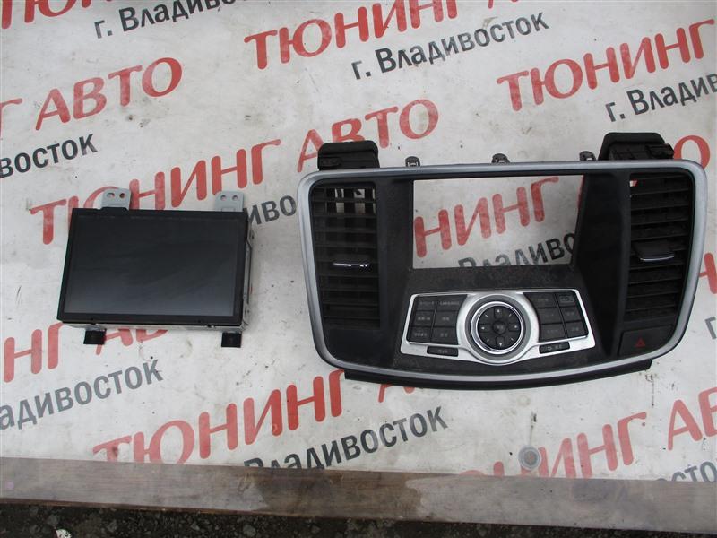 Монитор Nissan Teana J32 VQ25DE 2008 1274