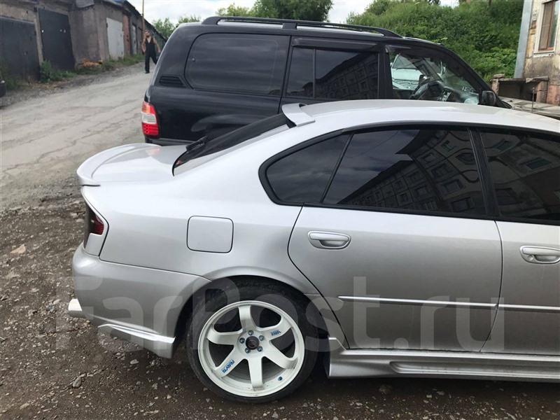 Спойлер Subaru Legacy BL5 2004 5050