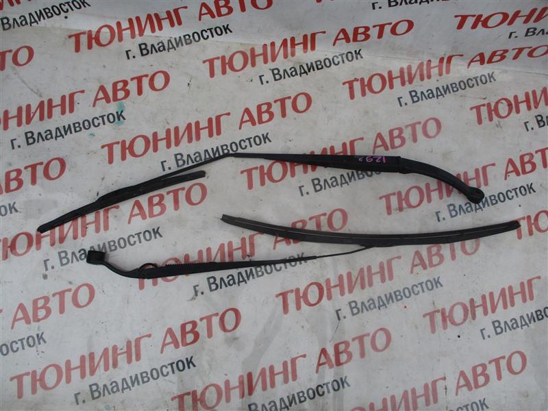 Держатель дворника Honda Fit GE8 L15A 2008 передний серый nh642m 1292