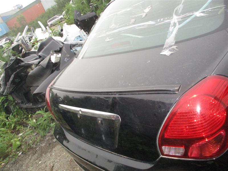 Спойлер Toyota Verossa JZX110 1JZ-FSE 2001 черный 202 1294