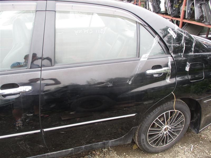 Дверь Toyota Verossa JZX110 1JZ-FSE 2001 задняя левая черный 202 1294