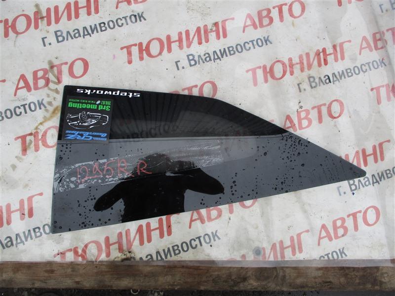 Стекло собачника Honda Cr-Z ZF1 LEA 2012 правое 1295