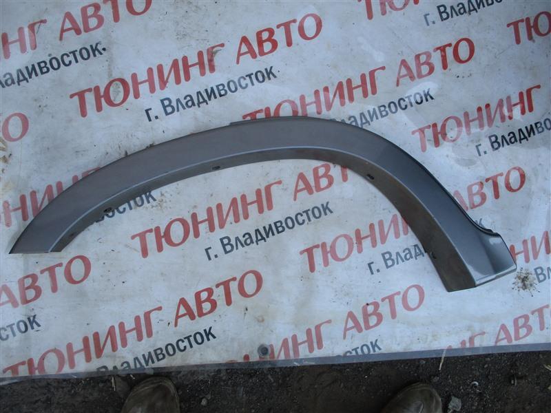 Накладка на крыло Honda Crv RD7 K24A 2005 задняя правая серый nh691m 1299