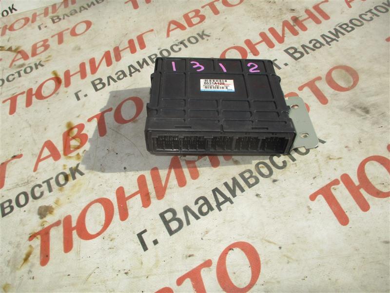 Блок управления efi Mitsubishi Airtrek CU5W 4G69MIVEC 2005 8631a128 1312