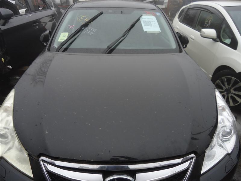 Капот Subaru Legacy BM9 EJ253 2009 черный d4s 1316