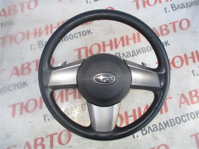 Airbag на руль Subaru Legacy BM9 EJ253 2009 1316