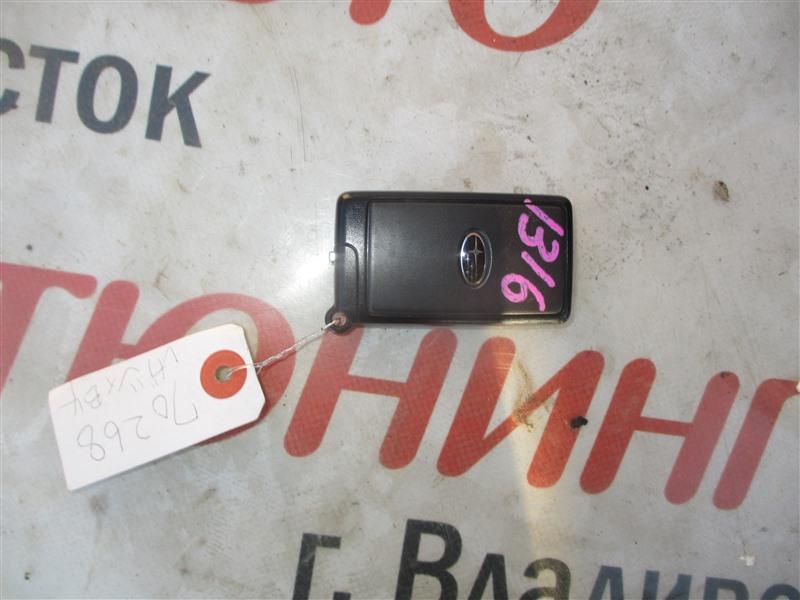 Ключ зажигания Subaru Legacy BM9 EJ253 2009 1316