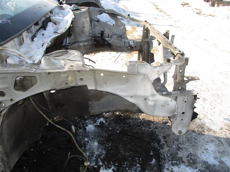 Лонжерон Toyota Caldina ST246 3S-GTE 2002 правый белый 040 1320