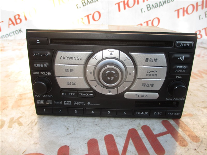 Магнитофон Nissan Dualis KJ10 MR20DE 2007 1327