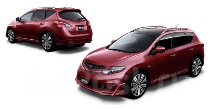 Обвес Nissan Murano Z51 2013 5050