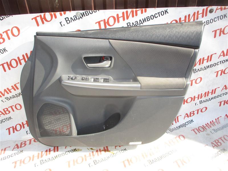 Обшивка дверей Toyota Prius Alpha ZVW41W 2ZR-FXE 2012 1323