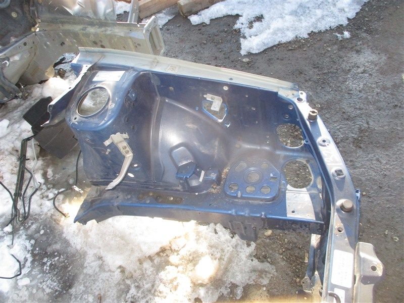 Лонжерон Subaru Forester SG9 EJ255 2005 левый синий 02c 1326