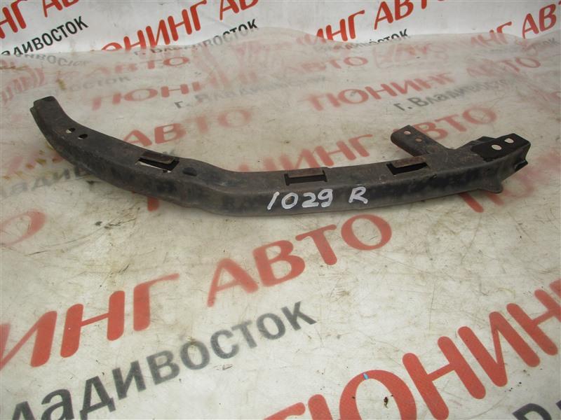 Планка под фары Honda Fit Aria GD8 L15A 2007 правая серебро 1029