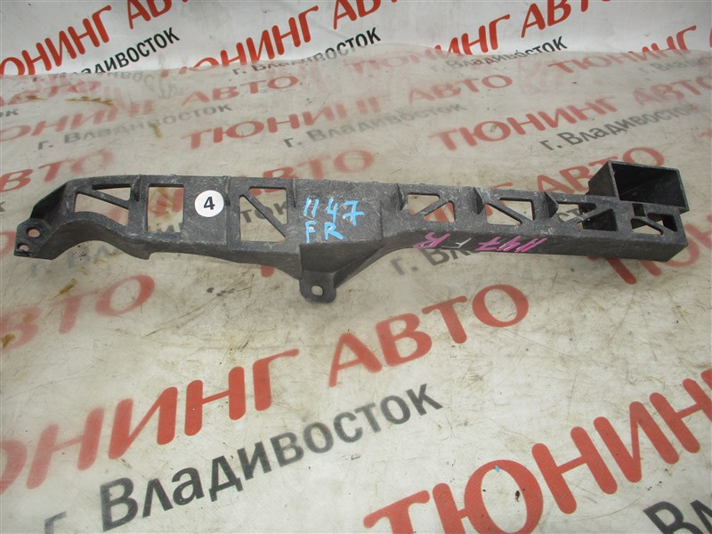 Планка под фары Mazda Axela BK3P LF-VE 2008 правая синии 34j 1147