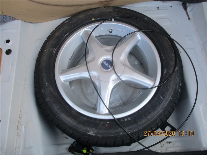 Запаска Toyota Cresta JZX93 1JZ-GE 1996 1332