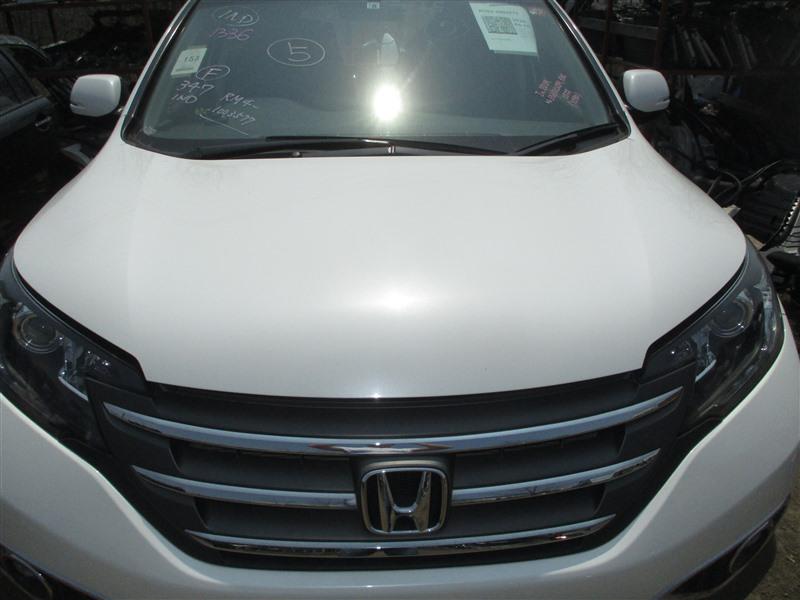 Капот Honda Crv RM4 K24A 2012 белый nh788p 1336