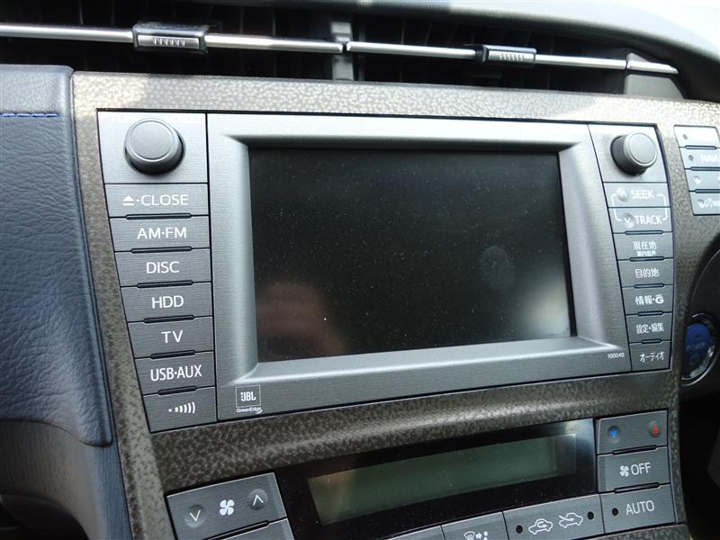 Магнитофон Toyota Prius ZVW30 2ZR-FXE 2013 86100-47223 1337т