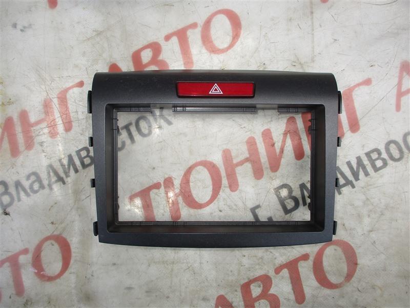Консоль магнитофона Honda Crv RM4 K24A 2012 1336