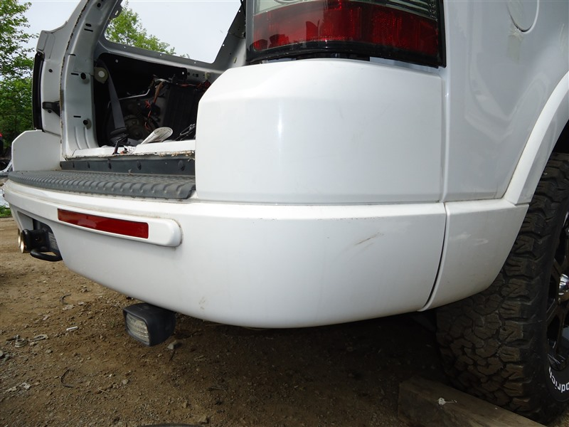 Бампер Ford Explorer 1FMEU74 COLOGNEV6 2005 задний белый 1340
